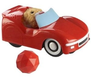 Voiture Rouge Zhuzhu Pet